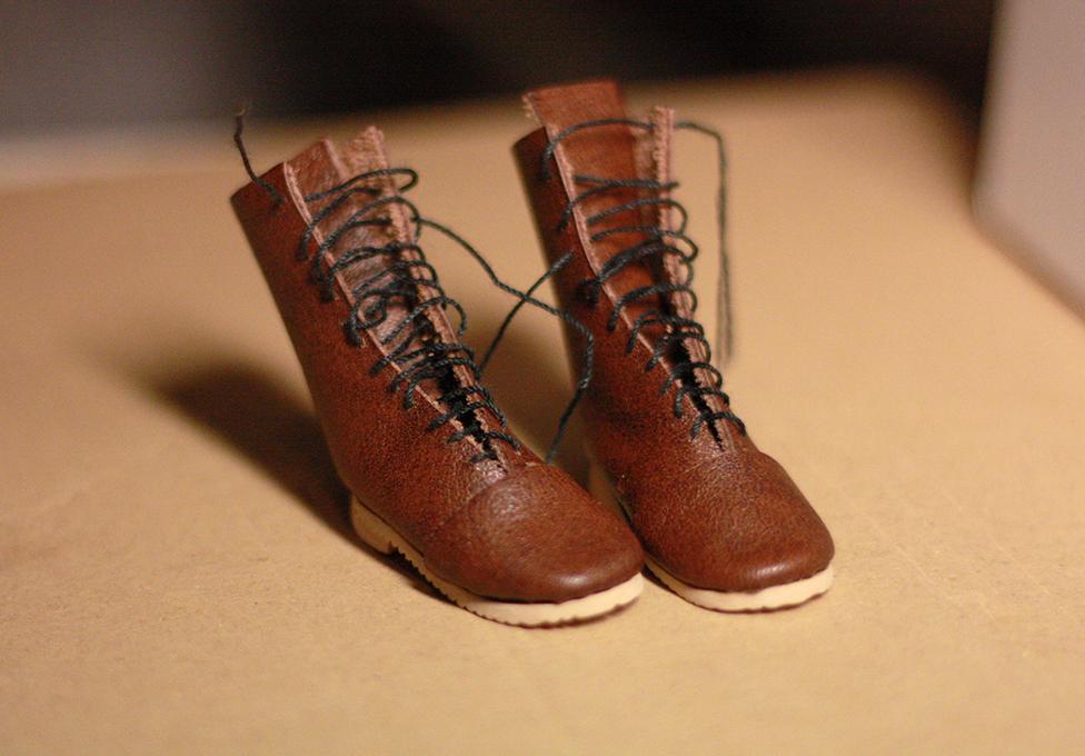 Обувь для куклы. Ботинки для куклы