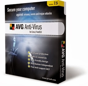 Free Download Software PC : AVG Antivirus Free 2014 Build 4354