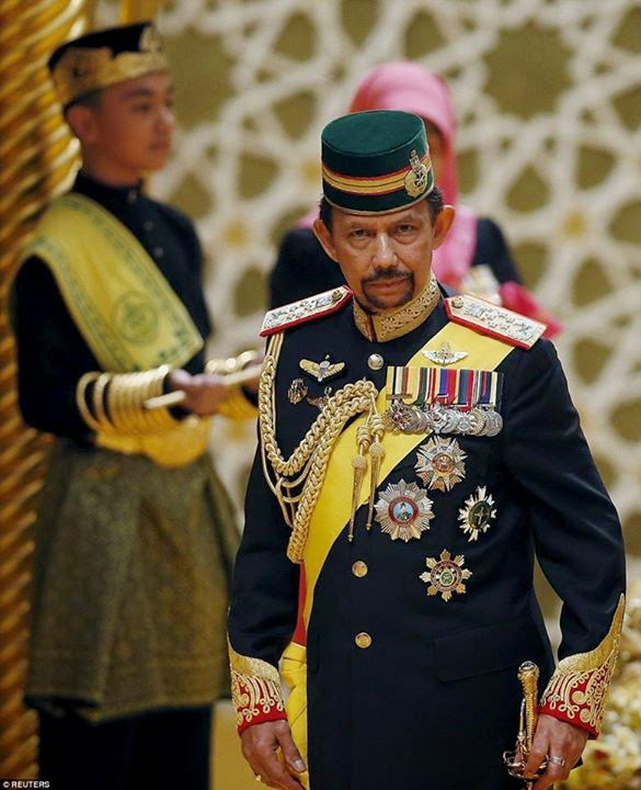 Sultan of Brunei's son celebrates wedding with mind-boggling splendour