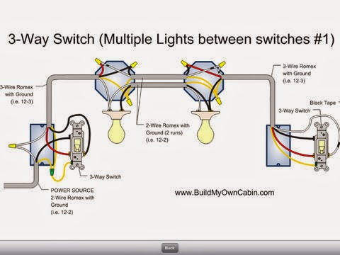 How To Wire Multi Light 3 Way Switches - DATA WIRING •