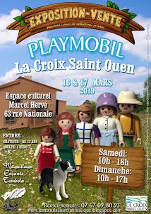 2nd Expo Vente Playmobil Lacroix St Ouen