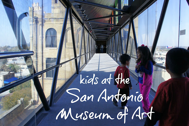 Kids at the San Antonio Museum of Art
