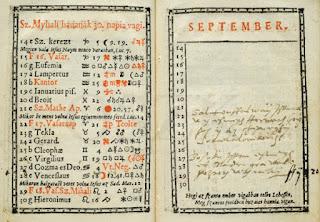 Kalendárium 1583.