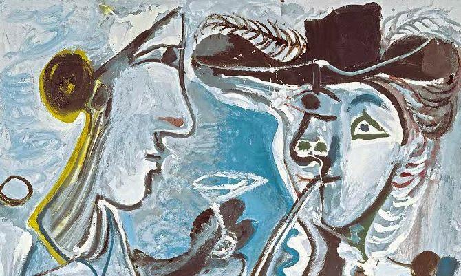 Picasso en el museo del Prado