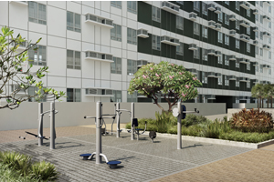 Outdoor Fitness Area at Avida Towers Alabang