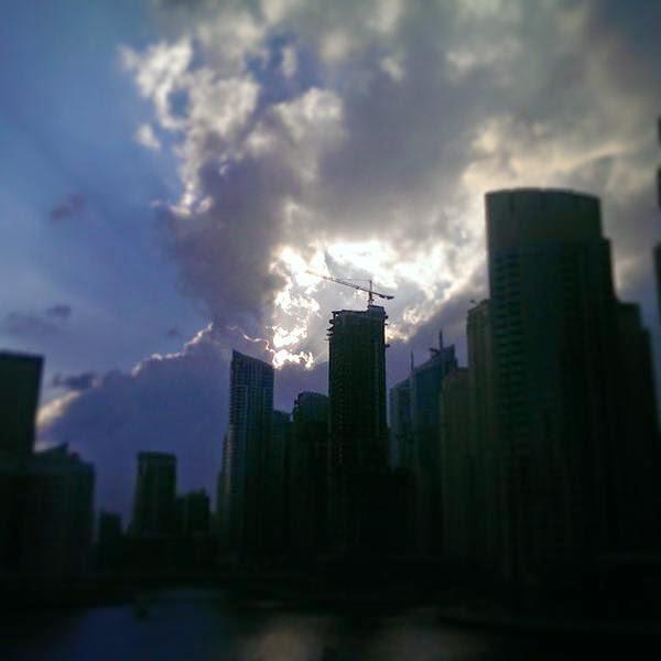 Kejadian aneh di Emiriyah Arab Bersatu UAE ini membuat penduduk teruja