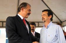 Ministro Educação Aloisio Mercadante e o Deputado Estadual Fernando Mineiro