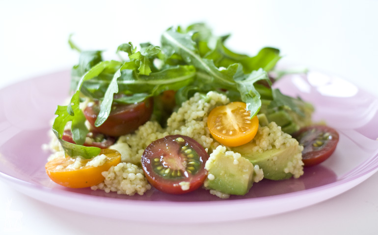 Couscous Avocado Salat