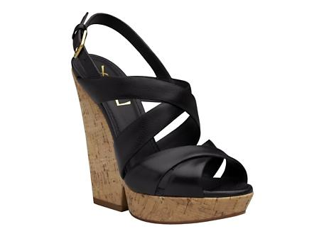 yves saint laurent wedge,