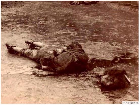 Ngeri Gambar Kuno Hukuman Ngeri Di Negara China Tahun 1900an
