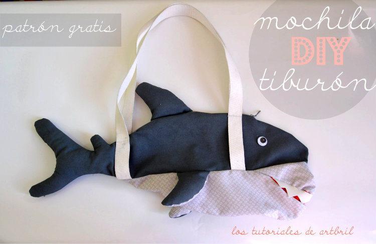 comoh acer una mochila tiburon