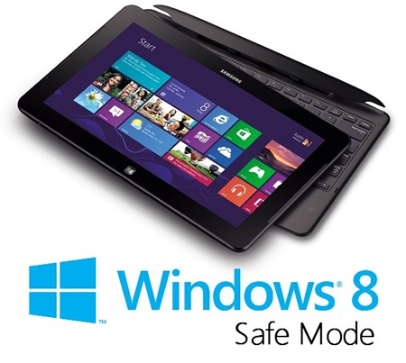 Microsoft Windows 8 Safe Mode Boot Options
