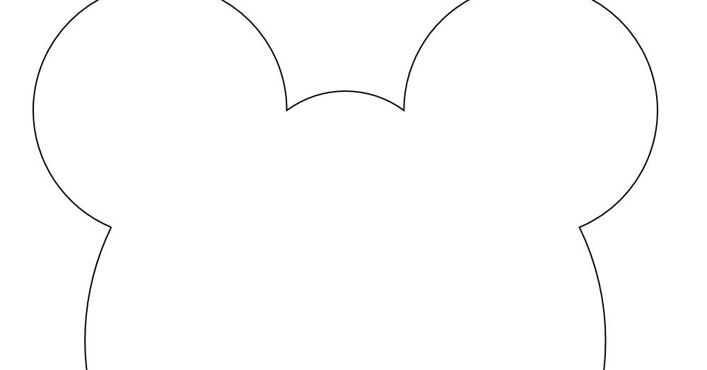 early play templates: Teddy Bear Mask templates to print out