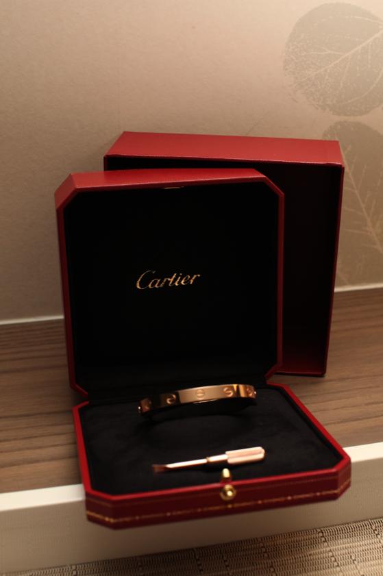 Cartier  L⊝VE Bracelet