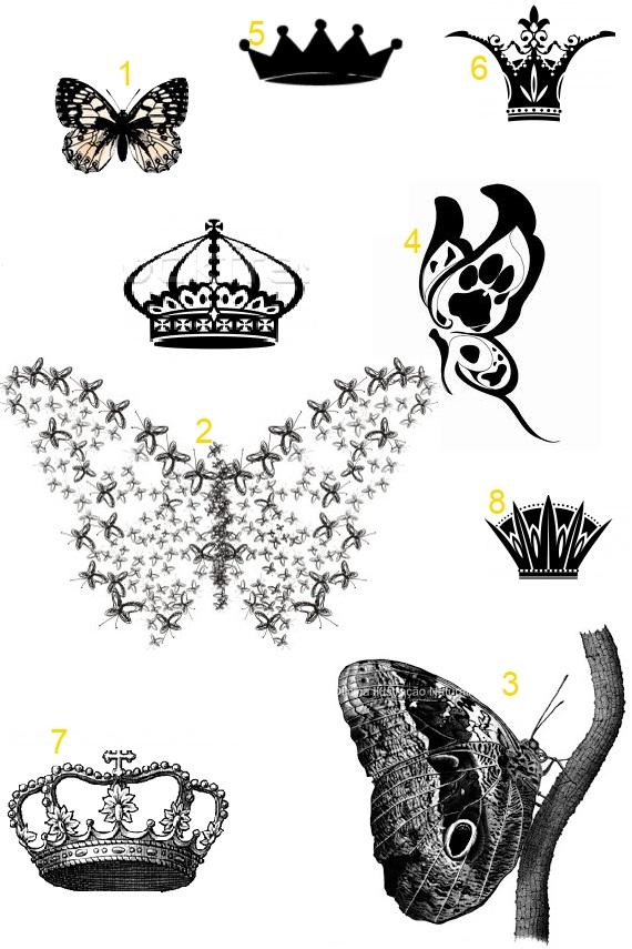 coroa de aniversrio princesas 3d 08 unidades a25 festas Car Tuning