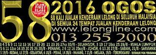 01 - 31/08/2016  JUALAN KENDERAAN LELONG SEKITAR LEMBAH KLANG - 3 KUALA LUMPUR  5 SELANGOR