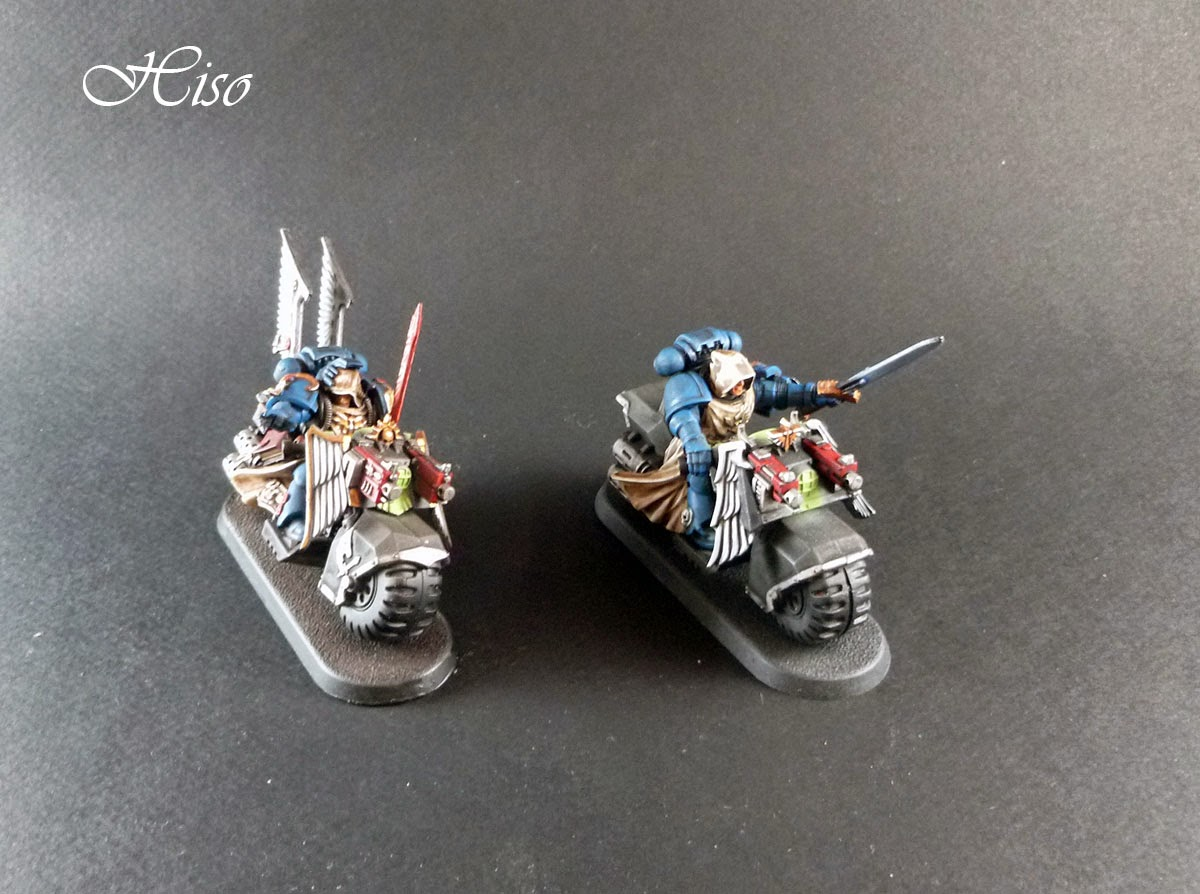 Dark Angels Ravenwing - Archivistes