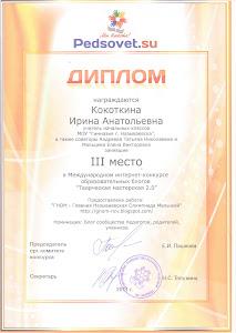 Диплом Международного Интернет-конкурса