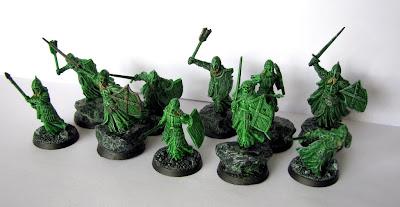 figurki władca pierścieni wojownicy umarłych