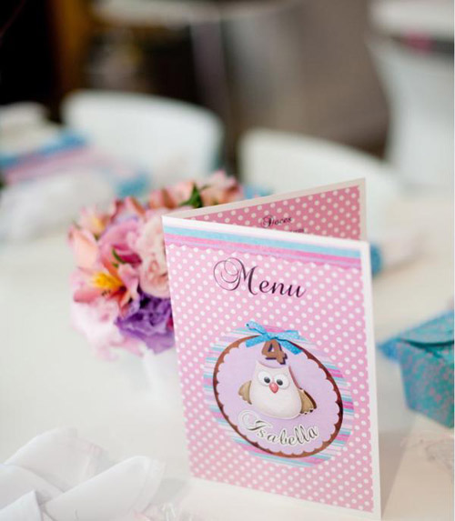 kara party idea recently featured this amazing owl themed party