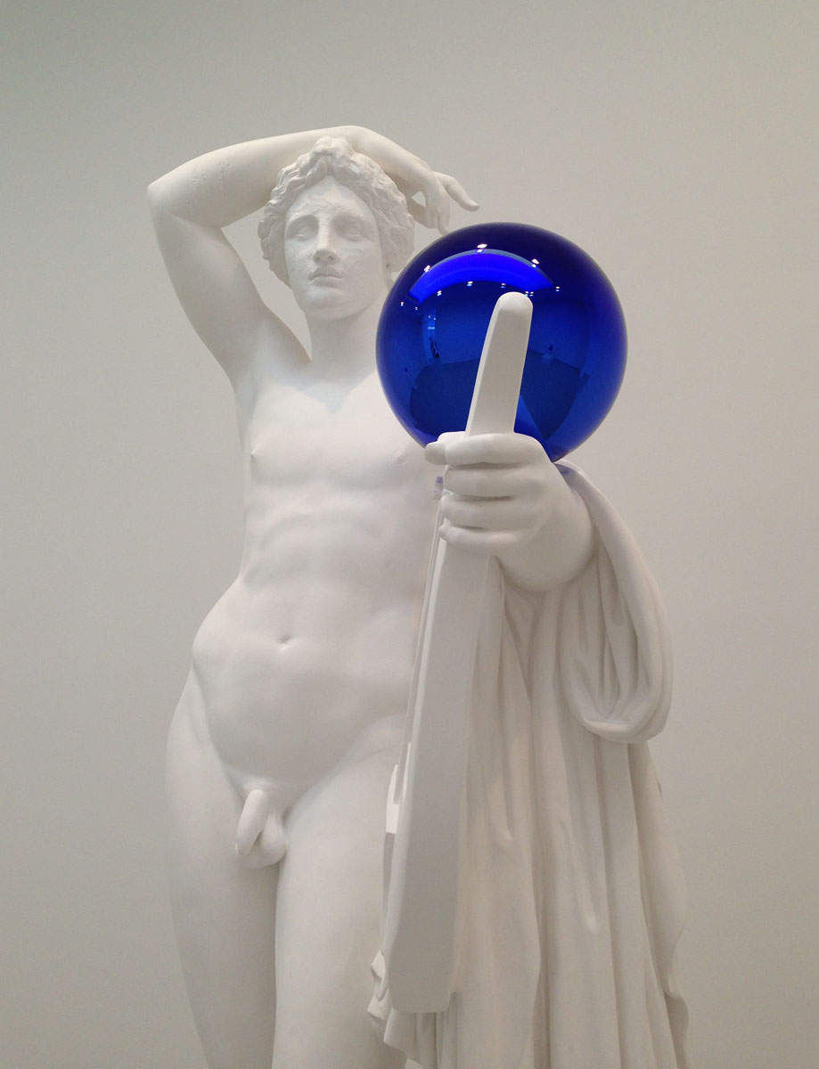 ART BLOG ART BLOG: JEFF KOONS: GAZING BALL @ DAVID ZWIRNER