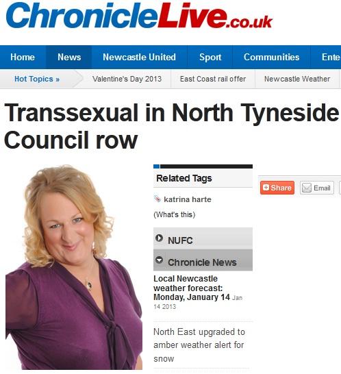 Na Inglaterra, transexual não consegue pagar multa por causa da voz masculina (Foto: Reprodução/Chronicle Live)