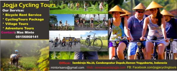 Cycling Tours and Villages Tourism Activity In Yogyakarta
