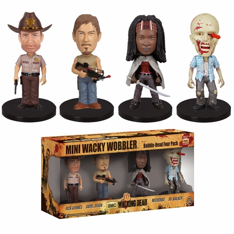 Walking Dead Mini Wacky Wobblers (Funko)