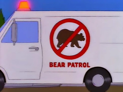 Bear Patrol Simpsons