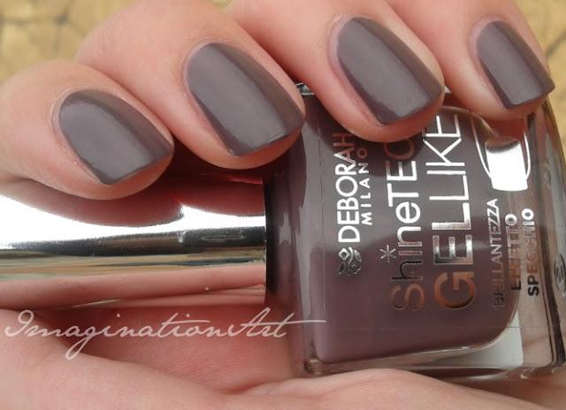 deborah milano gel like shine tech n°03 swatches smalto unghie nail polish lacquer