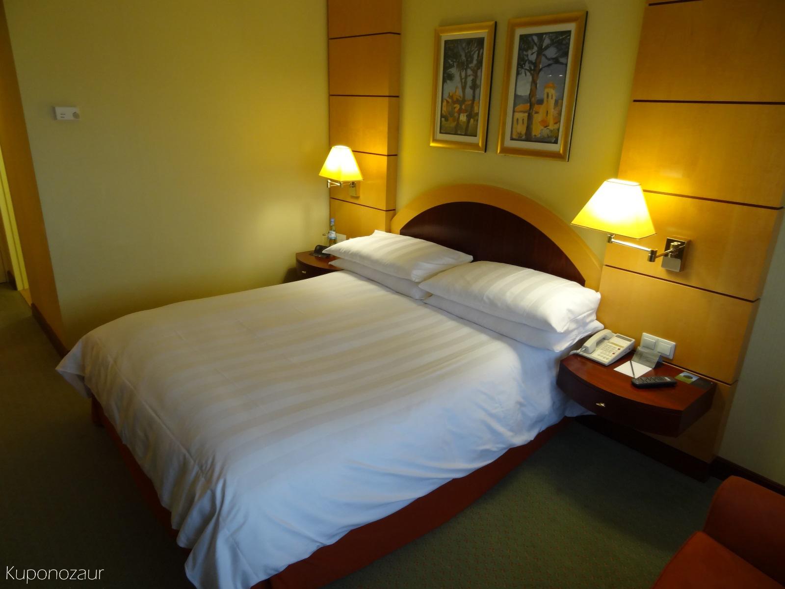 Hotel InterContinental Frankfurt łóżko
