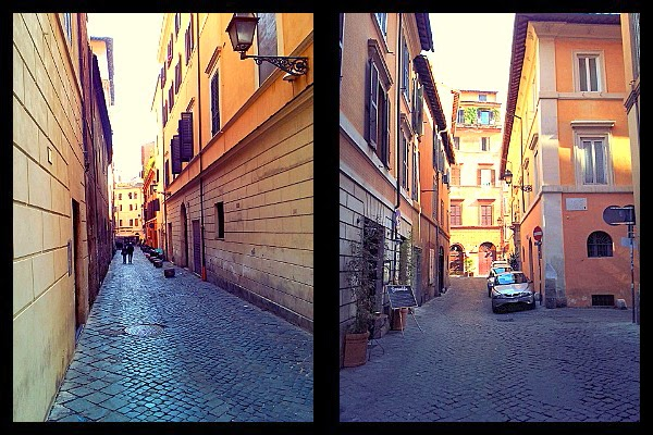 via di Monte Giordano w Rzymie