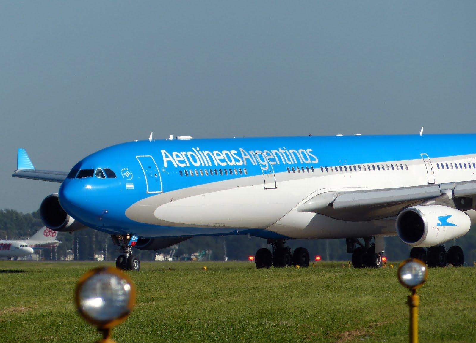 Fotos de la flota de Aerolíneas Argentinas