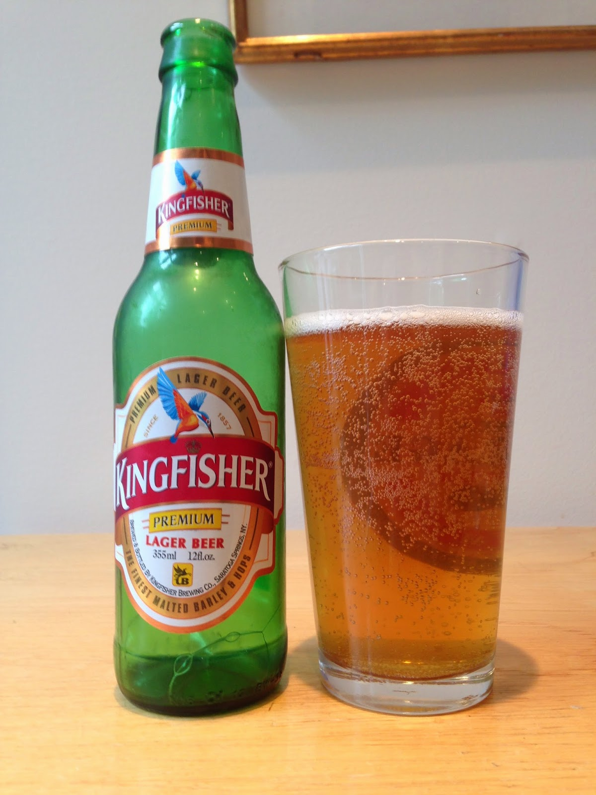 the best beer blog kingfisher premium lager beer. Black Bedroom Furniture Sets. Home Design Ideas