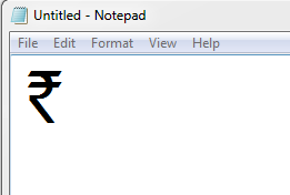 Install Rupee Symbol On Your Keyboard