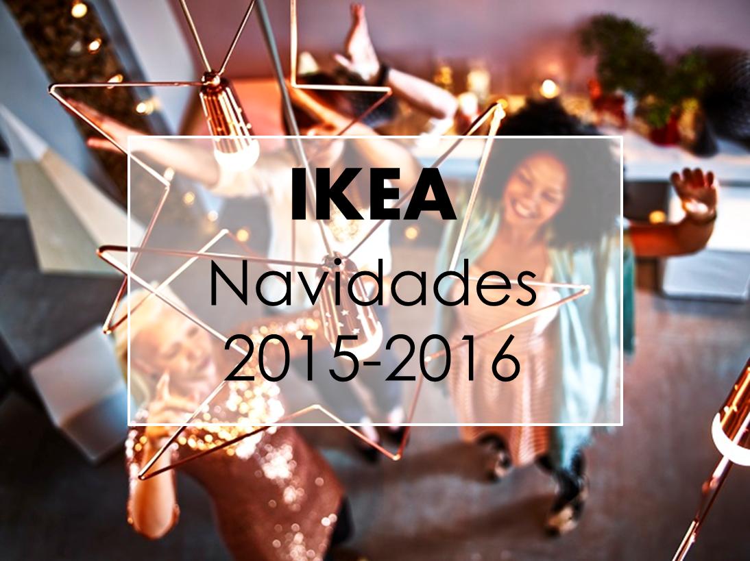 Decoraci n f cil ikea avance navidades 2015 2016 for Navidad 2016 tendencias decoracion
