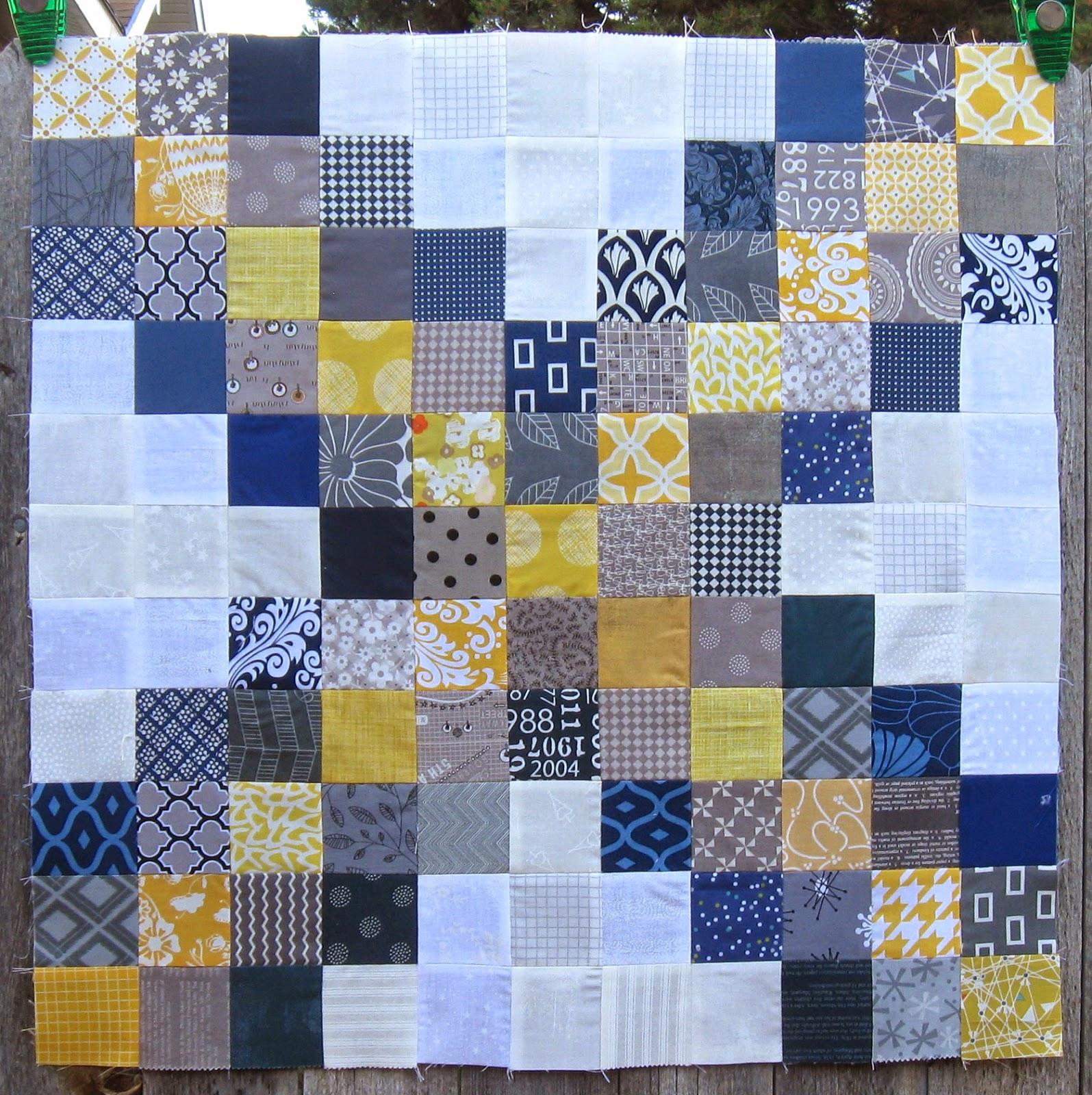 Happy Quilting: Super Scrappy Triple Irish Chain Block - A Tutorial : triple irish chain quilt pattern - Adamdwight.com