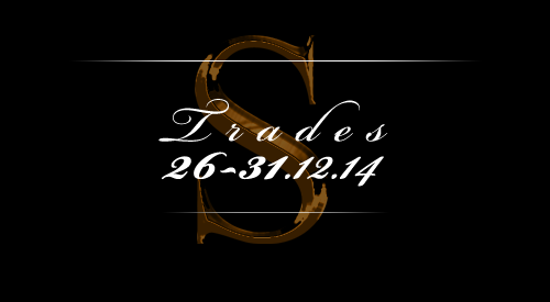 Trades 26-31.12.2014