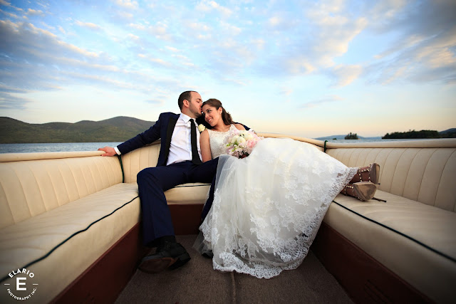 The Sagamore Wedding - Lake George, NY - Flowers - Boat Ride