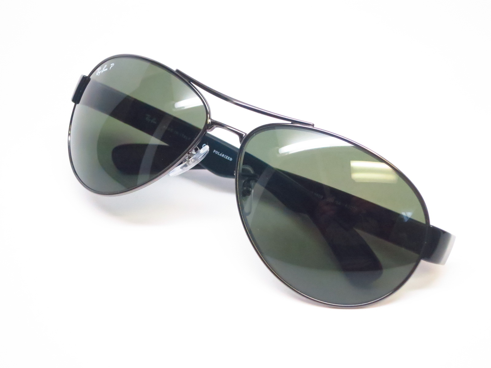 628e3aac67 Ray-Ban RB 3509 004 9A Gunmetal Polarized Sunglasses