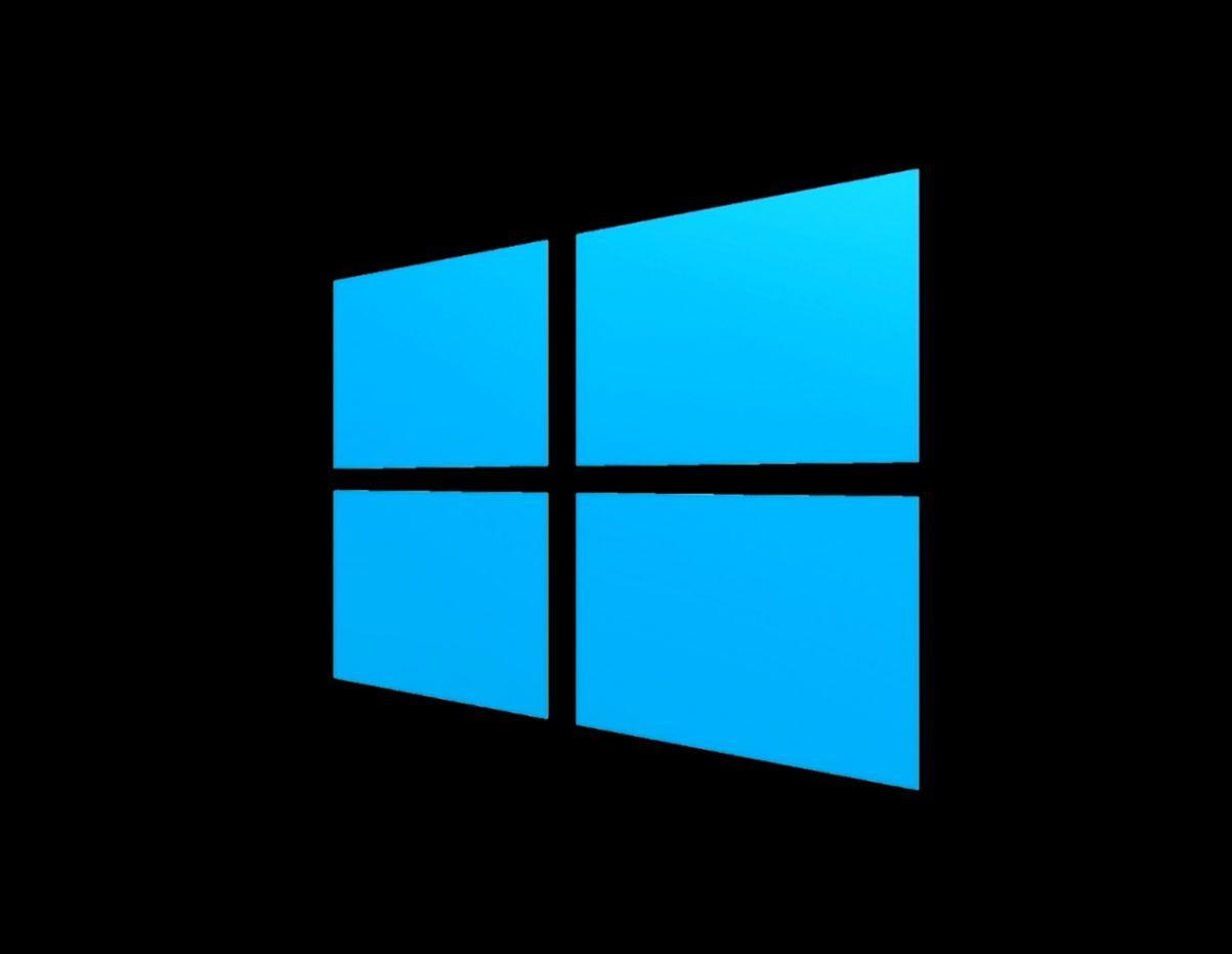 Windows Logo Black White