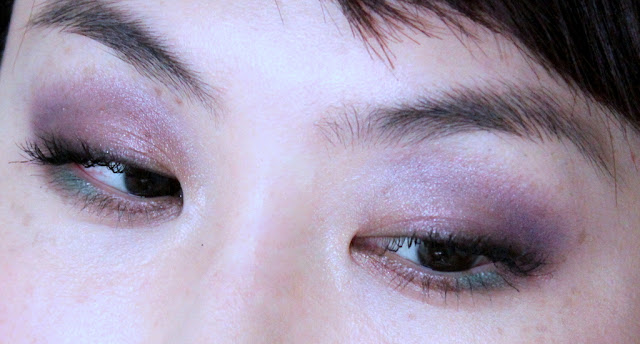 Shiseido Eye Color Bar Look FOTD