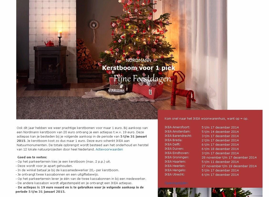 Meer Uit Minder Tip Kerstboom Voor 1 Euro