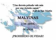 El 2 de abril de 1982 las Fuerzas Armadas de Argentina desembarcaron en .