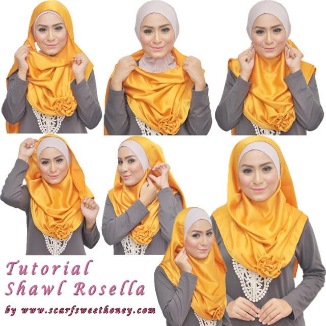 cara memakai hijab modern cantik