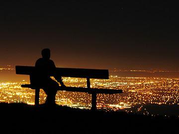 ...E ao subirmos a montanha, não levemos nada conosco, além de Deus e de um coração aberto.