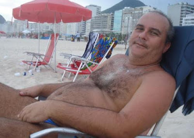 fat daddy bear - beach matures - gaymen