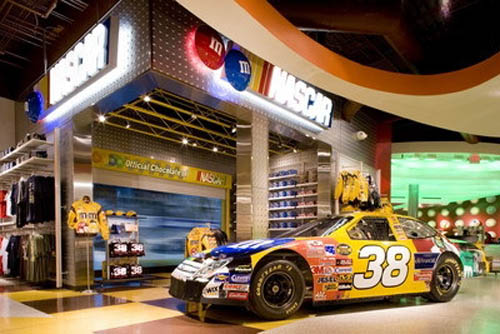 m&m World Nascar
