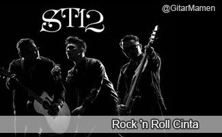 chord st12 rock n roll cinta