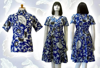 e MODEL BAJU BATIK WANITA MODERN